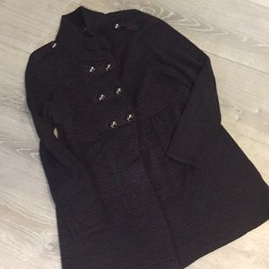 Style & Co double long breasted sweater